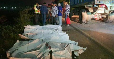 ঢাকা-সিলেট মহাসড়কে পৃথক দুর্ঘটনায় ১৬ জন নিহত
