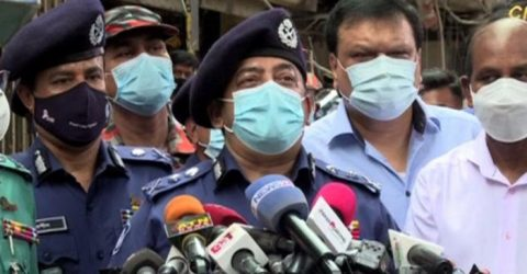 মগবাজারে বিস্ফোরণের ঘটনা নাশকতা নয় : আইজিপি