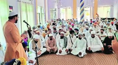চার মুসলিম পরিবারের জন্য মসজিদ নির্মাণ