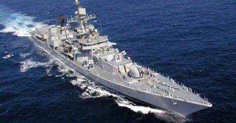 ভারত দক্ষিণ চীন সাগরে যুদ্ধজাহাজ পাঠিয়েছে